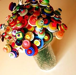 Button boquet princess lasertron