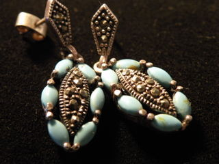 Earrings from peru