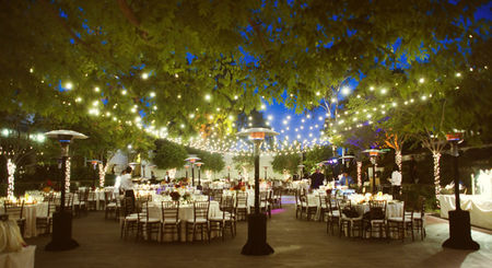 Fairy Lights West Aussie Wedding