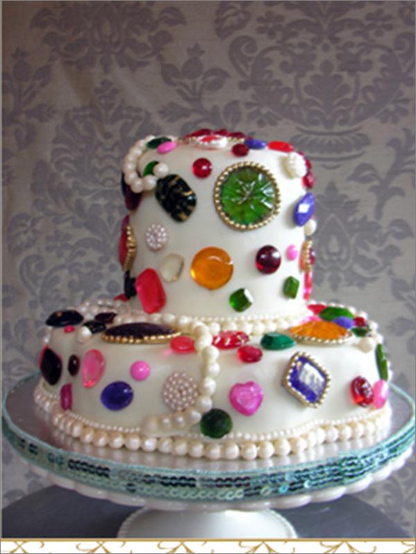 Jewel Cake - West Aussie Wedding