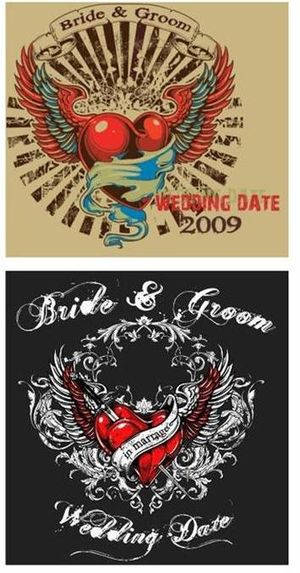 Here are some rockin wedding motifs WCC From West Aussie stubby holder