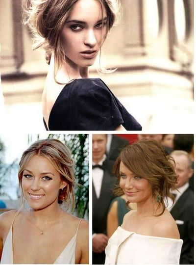 these all look relaxed hairstyles.. not too fussy just nice and easy.