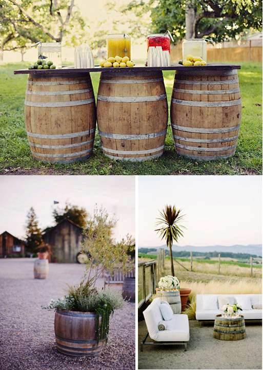 Wine barrel love