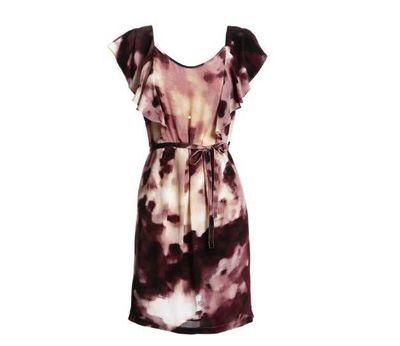 Hazy colour dress